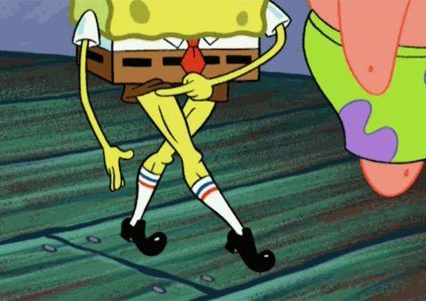 SpongeBob Hot-SquarePants.