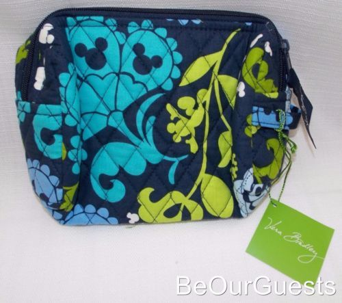 Disney-Parks-Vera-Bradley-Wheres-Mickey-Medium-Cosmetic-Bag-Case-New