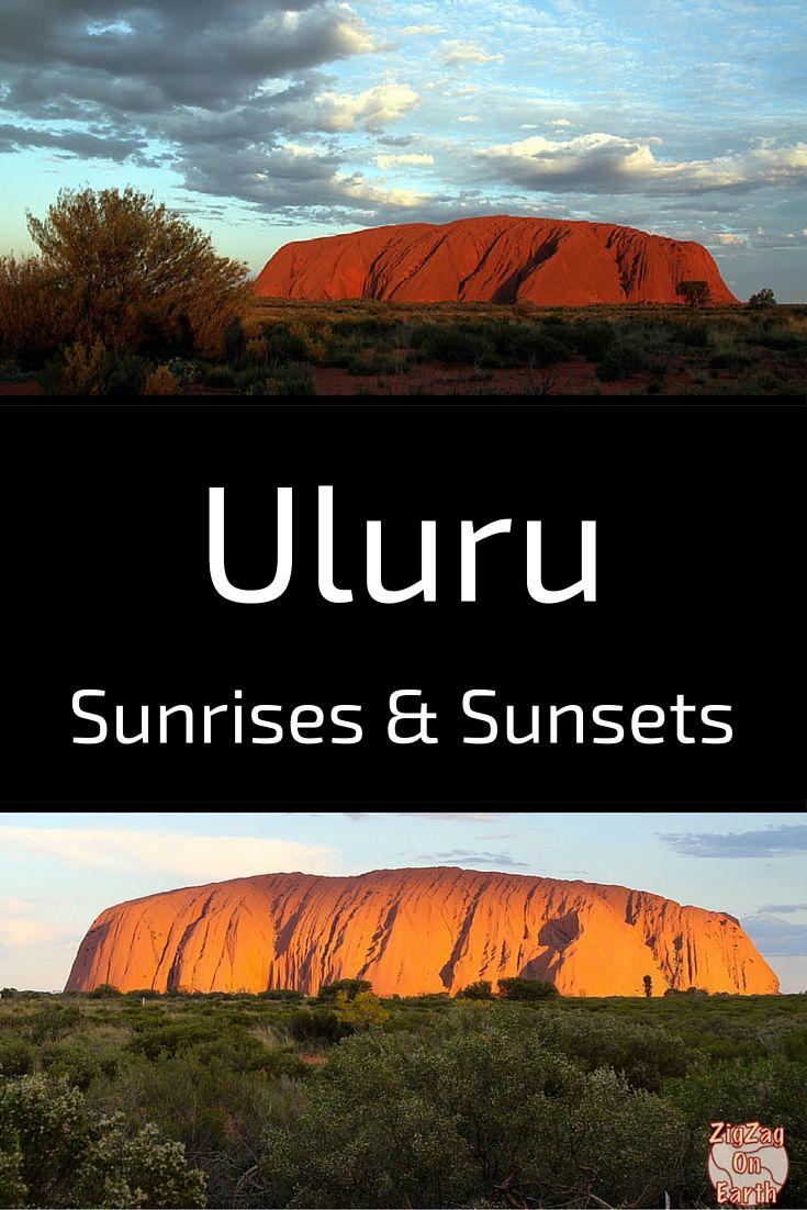 Uluru Sunrise and Sunsets - Red Center Australia - Travel Guide
