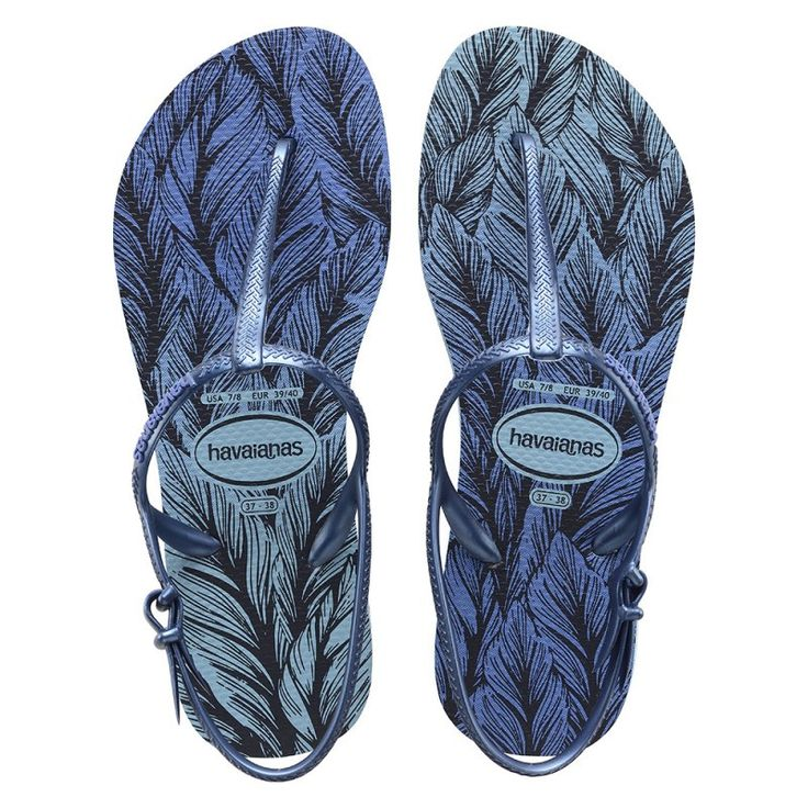 Havaianas Freedom Sim Print Lavender Blue Flip Flops  Price From: 24,46 $CA