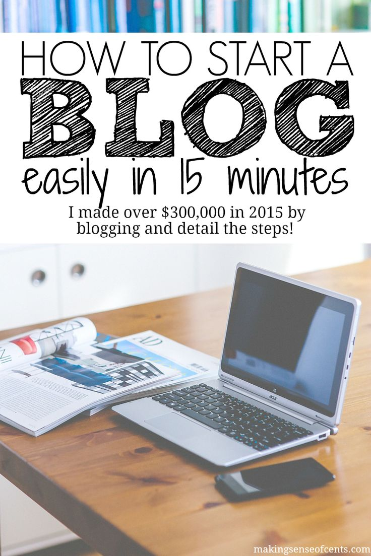 Blogging changed my life and allowed me to make thousands of dollars a month, all by doing something that I love. In fact, I made over $320,000 by blogging in 2015! In this post, you can learn all about how to start a blog.