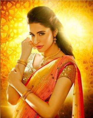 Ved Deal's Bollywood Replica Nargis Fakhri Heavy Orange Designer Saree Bollywood Sarees Online on Shimply.com