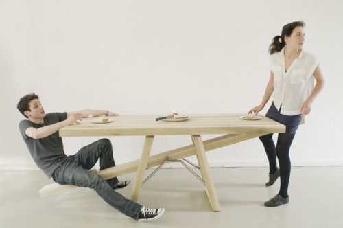 A Table and a Seesaw in One