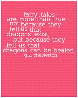 The magic of fairy tales.Confrontation Quotes, David And Goliath Quotes, Inspire Quotes, Quotes About Magic, Chesterton Quotes, Fairy Tales, Favorite Quotes, Fairies Tales, Dragons Exist
