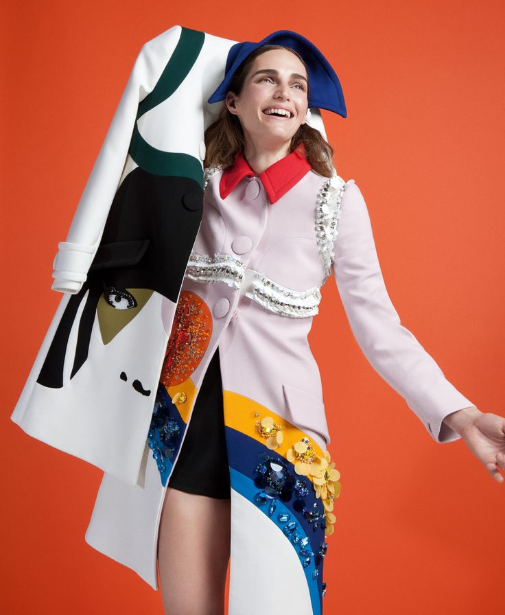 Vivien Solari by Benjamin Alexander Huseby for Purple Fashion Spring Summer 2014