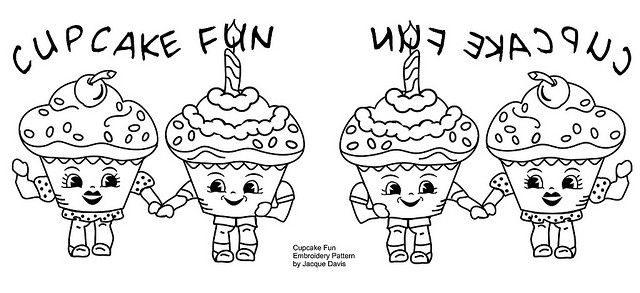 Cupcake Fun Embroidery Pattern by davis.jacque, via FlickrEmbroidery Needlework, Embroidery Ideas, Fun Embroidery, Cupcakes Crafts, Embroidery Patterns, Needle Work, Photos Shared, Cupcakes Rosa-Choqu, Cupcakes Fun
