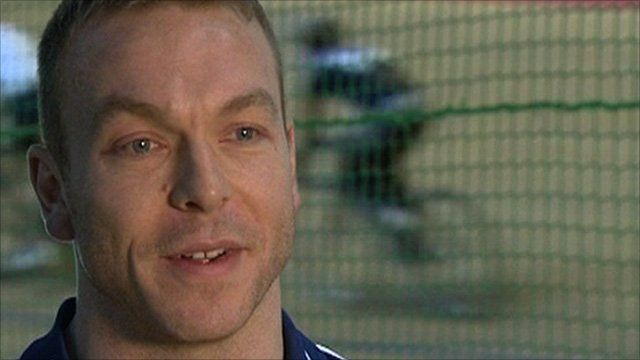 Sir Chris Hoy explains his decision to compete for Great Britain at December's track World Cup meetings in Australia and Colombia to BBC Sport's Nick Hope.