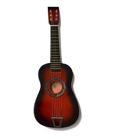 This Red Kids Acoustic Guitar is perfect! #zulilyfinds