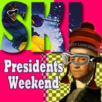 "EARLY RUSH FOR PRESIDENT""S WEEKEND!  We say it every year, and hope you will listen... President's Weekend (2/15-18/13) lodging sells out!!! Whether you're headed to Mammoth Mountain, Lake Tahoe or Big Bear, the nicest vacation rentals and pet-friendly lodging go first. So if you're planning on celebrating our great ski conditions, be sure to book early for the best choices!  http://www.cityconcierge.com/reservations/default.asp    And please LIKE US on FaceBook…"