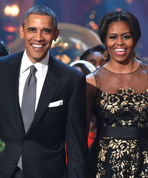 All Twitter Wanted For Christmas Was Barack & Michelle Obama #refinery29