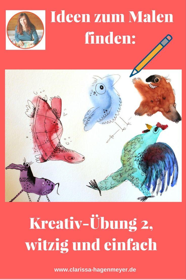 Ideen zum Malen finden mit kreativen Übungen von