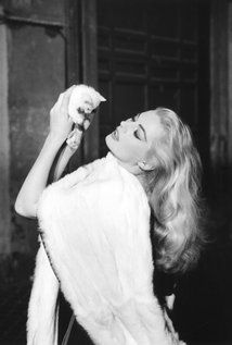 """Anita Ekberg, actress and former Miss Sweden.  Died January 11 2015, age 83.  Quotes from Miss Ekberg:  """"I was lonely, but I have no regrets. I have loved, cried, been mad with happiness. I have won and I have lost.""""  """"I don't know if paradise or hell exists, but I'm sure hell is more groovy."""""""