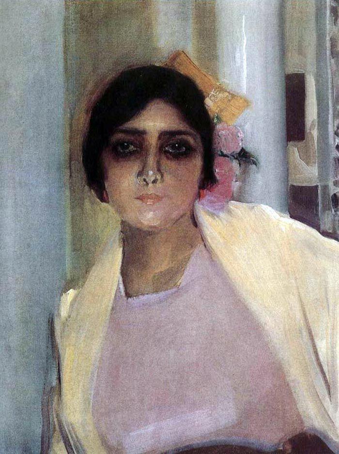 Joaquín Sorolla y Bastida - Retrato de Mary