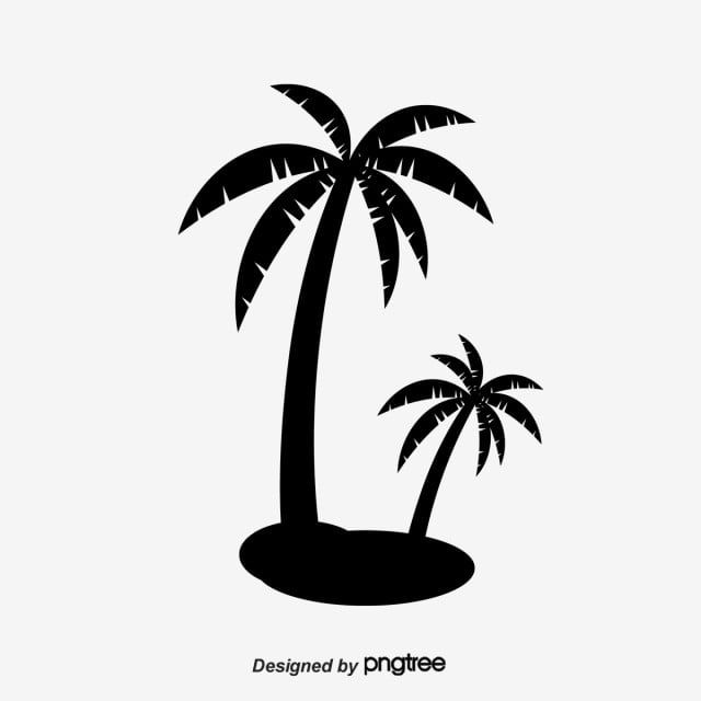 Coconut Tree Beach At Sunset Tree Clipart Sunset Clipart Coconut Tree Png Transparent Clipart Image And Psd File For Free Download Beach Clipart Tree Clipart Coconut Vector
