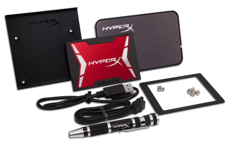 No tienes excusa para mejorar el rendimiento de tu computadora. Con el disco SSD HyperX SAVAGE de 240 GB el rendimiento será superior.