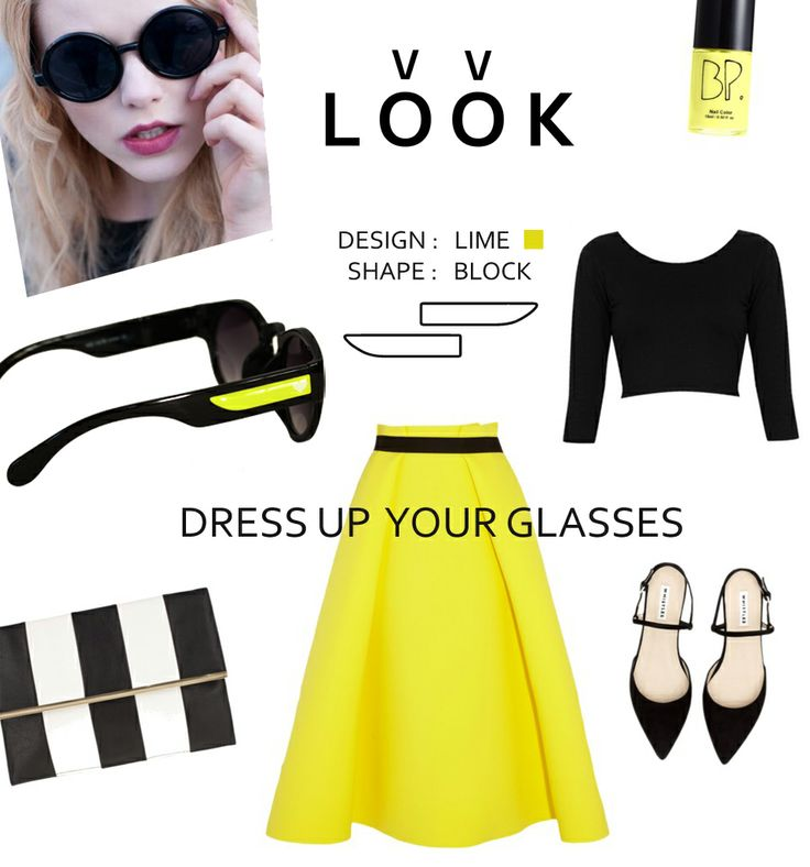VV Look has many sides. Today it's classic and elegant. #vvlook #vv_look #glasses #sunglasses #fashion #outfit #look #mood #summer #yellow