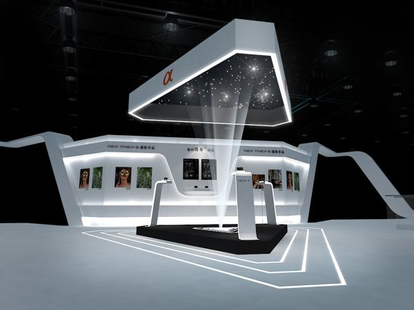 Exhibition Stand Futuristic : Best images about display design on pinterest