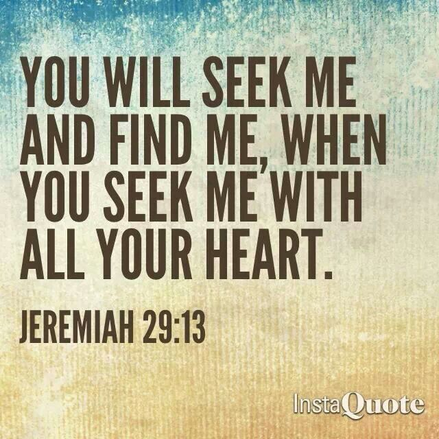 Jeremiah 29 13 Inspirational Things Pinterest