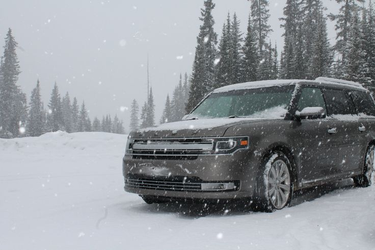 I love my big boat. 2013 Ford Flex in the Canadian Rockies  [4272x2848] HD Wallpaper From Gallsource.com