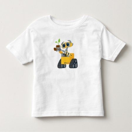WALL-E robot sad holding plant Toddler T-shirt - tap, personalize, buy right now!