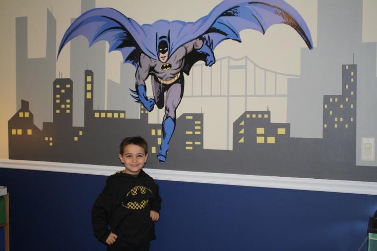 Batman room kid s room pinterest paint colors for Batman bedroom paint ideas