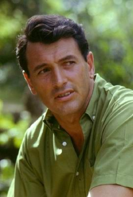 He was such a great looking man. Rock Hudson.