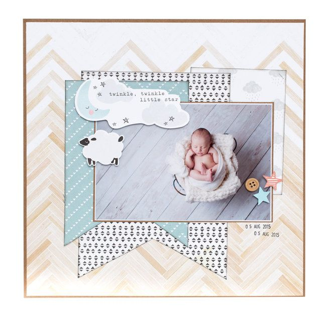 Layout: Precious Little You Collection from Crate Paper