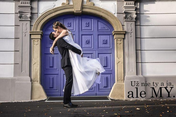 pár, modlitba, bride, grome, wedding, blue gate,
