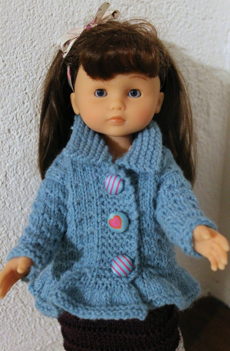 Tuto gilet au point andalou - poupée Les Chéries