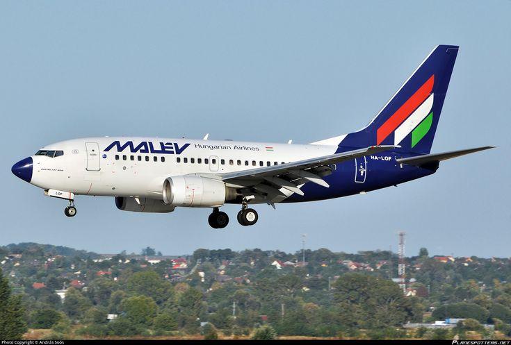 HA-LOF Malév Hungarian Airlines Boeing 737-6Q8