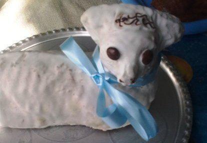 Beránek z hrníčkové kuchařky / Lamb cake
