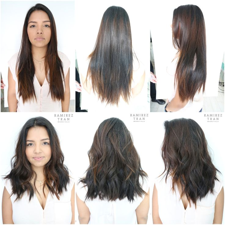 A FRESH CUT WITH LONG LAYERS DONE @ THE SALON IN MIAMI - Ramirez ...