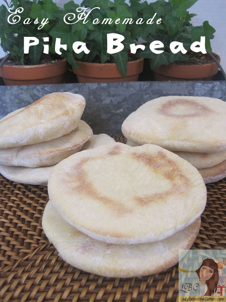 #6  Lady Behind The Curtain - Easy Homemade Pita Bread  (October 2012)