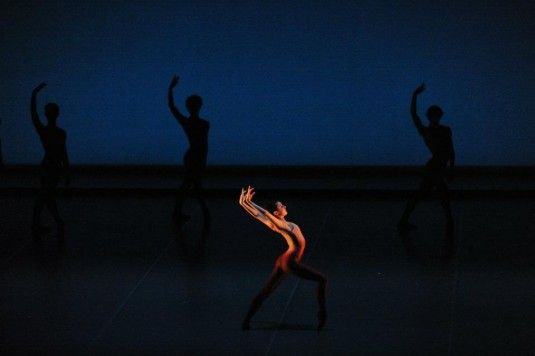 Spinae, Myles Thatcher choreography for SF Ballet Trainees, 2012