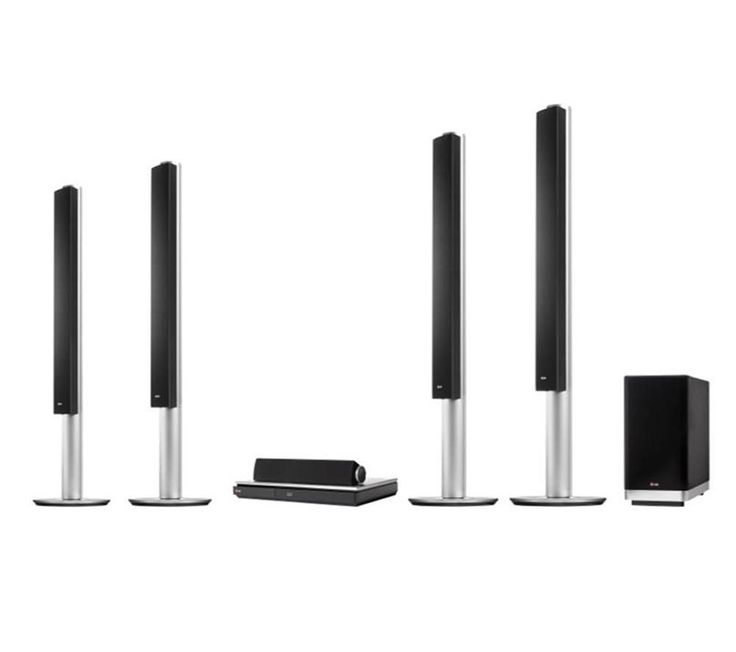 LG  BH9540TW 9.1 Smart 3D Blu-ray Wireless Home Cinema System Price: £ 649.00 Get the best sound for your entertainment with the incredible LG BH9540TW 9.1 Smart 3D Blu-ray Wireless Home Cinema System - sure to impress friends and family with every viewing. Packs serious audio power Outputting an impressive 1460 W of sound, the LG BH9540TW Home Theatre System stimulates your senses like never...