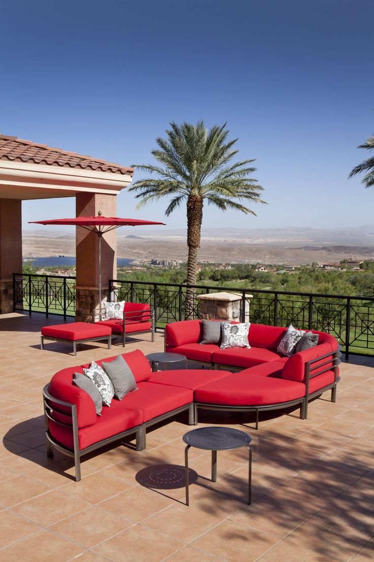 Awesome Southern Cay Sectional Now In Stock At The Patio Collection.