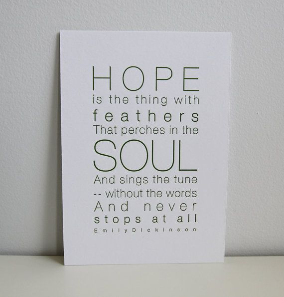 love this so much :: Letterpress Poetry Print Emily Dickinson by LennahPress