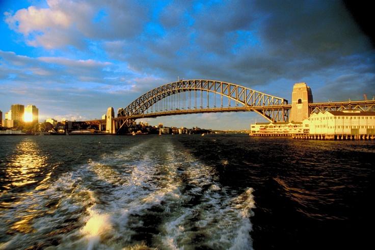 Harbour Bridge in Sydney - lovely city