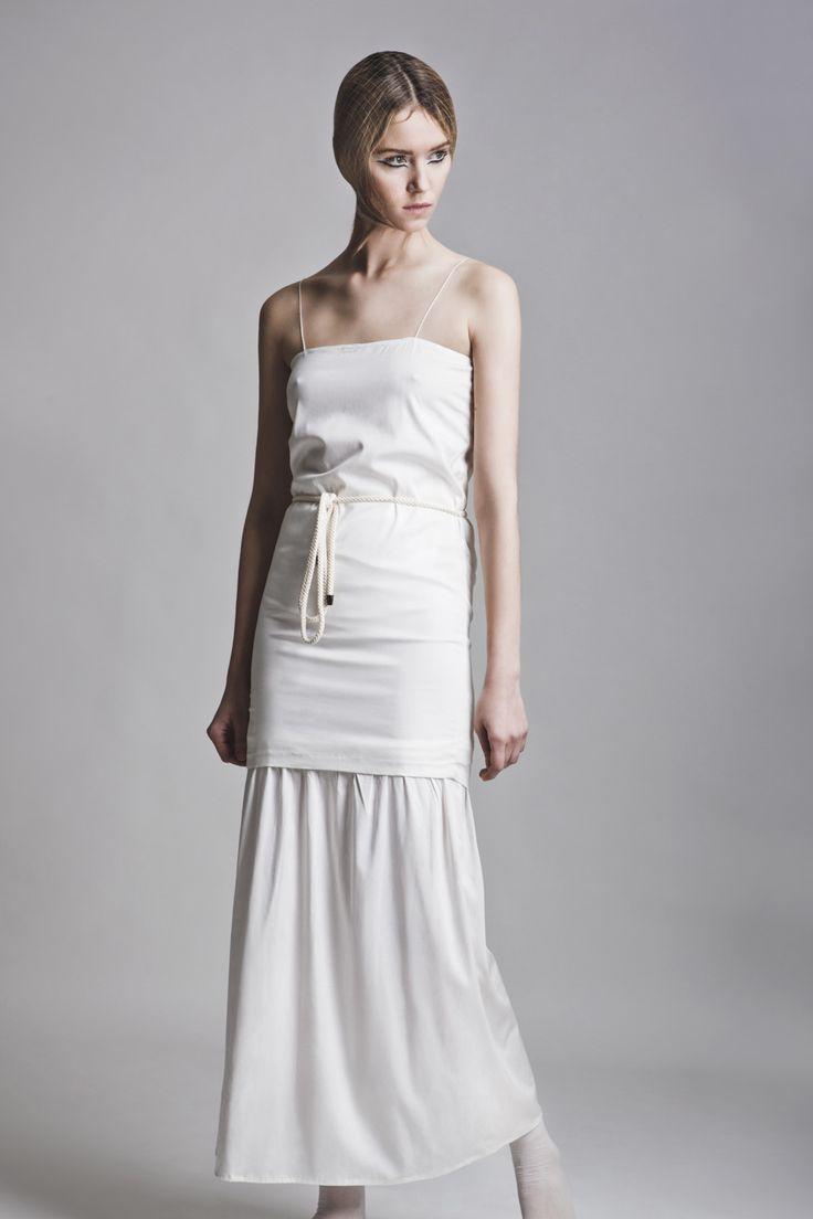 Clothes: Vassiliki Charitou SS15 Photographer: Vasilis Topouslidis Hair - Make up: Katerina Theofilopoulou  all white