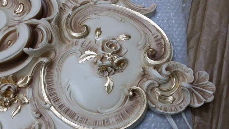 Stucco decorato R 906 A.S.F. gold oro foglia 2
