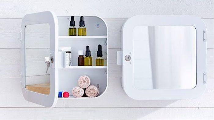 Ikea Gunnern Lockable Cabinets | Remodelista