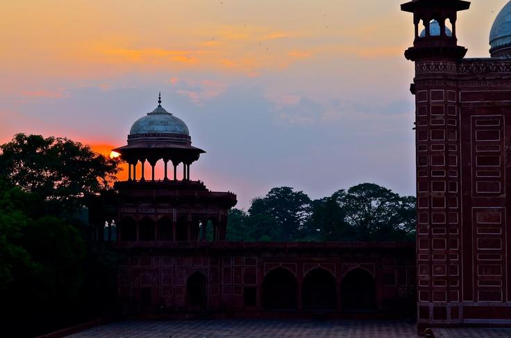 India / Sun set