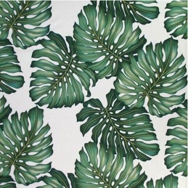 Tropical Monstera Leaves Fabric from I Just Love That Fabric