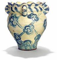 Art nouveau vase by Thorvald Bindesboll