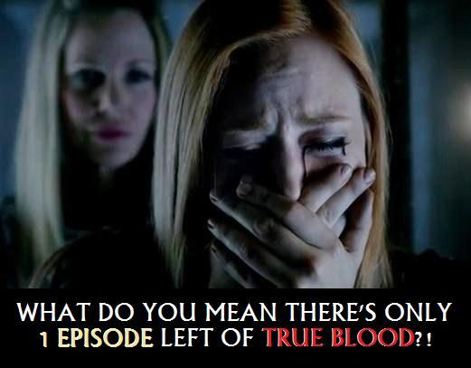 What do you mean there's only 1 episode left of True Blood?! True To The End!