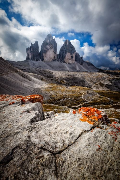Tre Cime di Lavaredo - Dolomites Bellunesi National Park Andrea Livieri