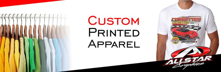 Get custom apparel printed t shirts at competitive prices from allstar graphics call for apparel printing solutions in australia