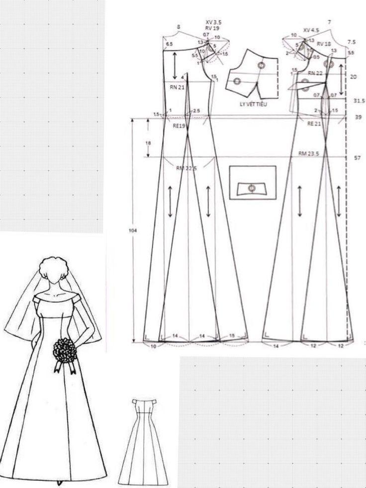 17 mejores imágenes sobre vestidos en Pinterest   Vestidos, Costura ...