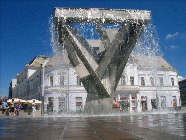 Refreshing water - Nyíregyháza, Hungary