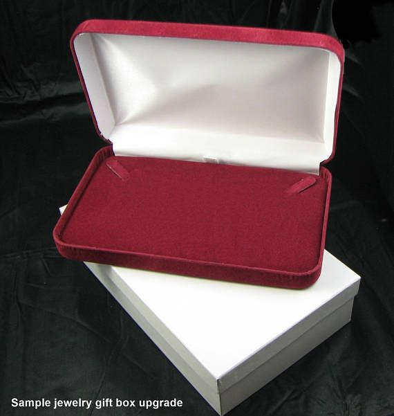 36++ Velvet jewelry box for necklace viral